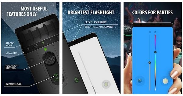 Color LED Flashlight Selene FLASH