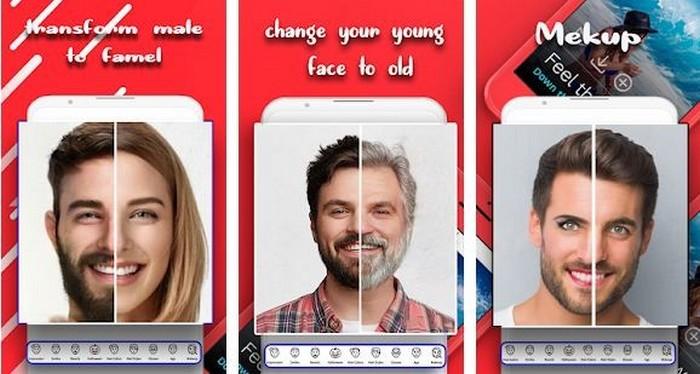 Face Changer Gender Transformation Apps