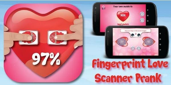 Fingerprint Love Test Scanner Prank