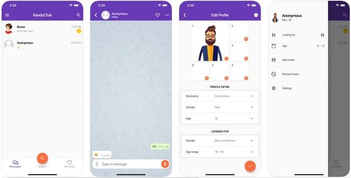 RandoChat App