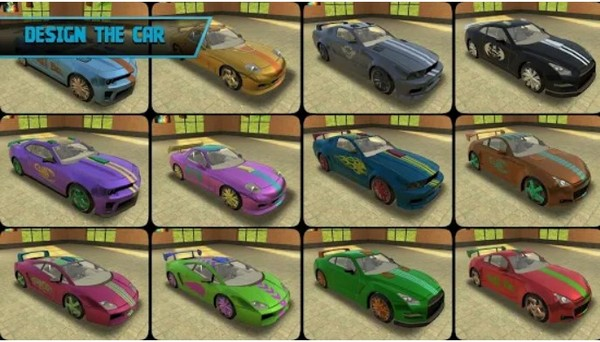 Tuning Car Racing by Process Games