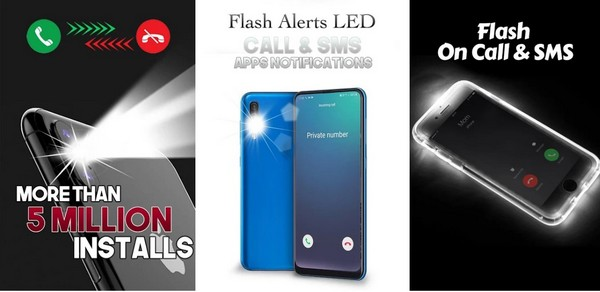 Color Call Flash Color Phone Flash Led Torch