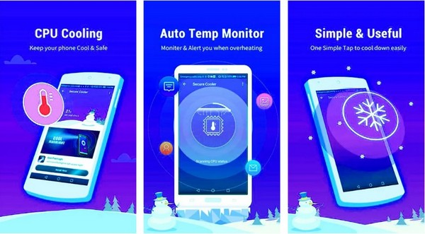 Phone Cool Down Cooling Master CPU Cooler