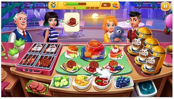 Cooking Talent Restaurant fever