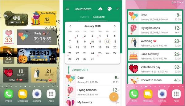 Countdown Days App Widget