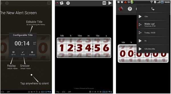 Large Countdown Timer