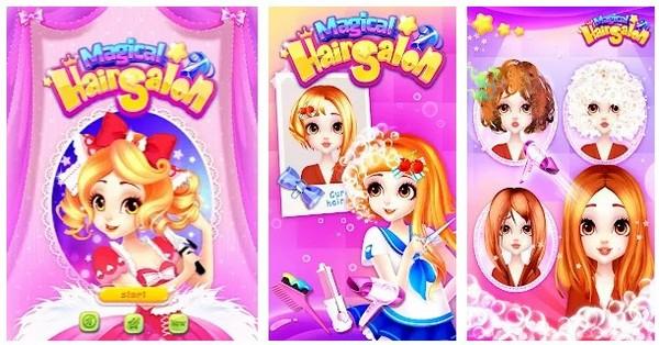 Magical Hair Salon Girl Makeover
