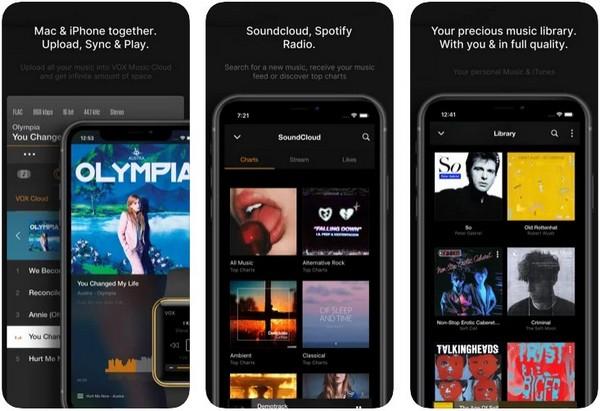 VOX – MP3 FLAC Music Player