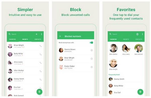 Dialer, Phone, Call Block Contacts by Simpler
