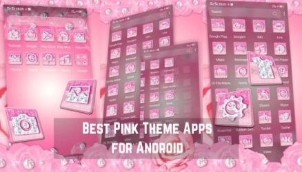 Free Pink Theme Apps for Android