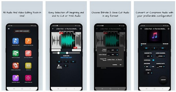 MP4, MP3 Video Audio Cutter, Trimmer Converter