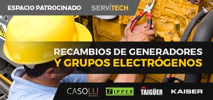 Recambios de generadores y grupos electrogenos