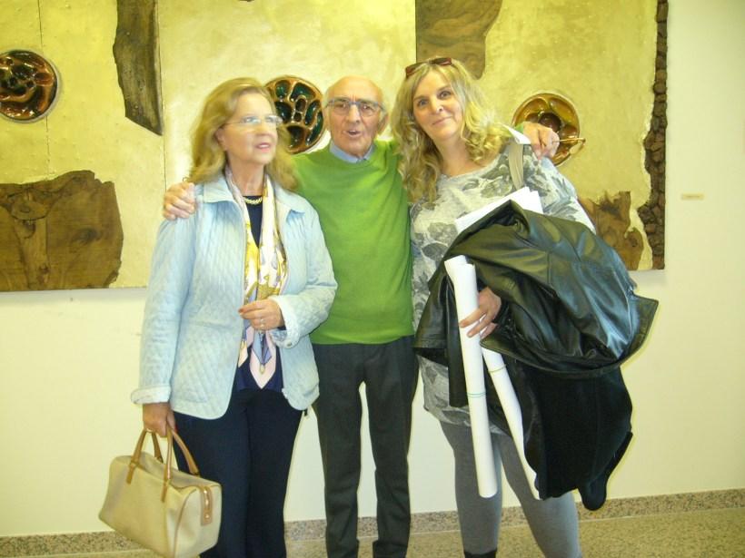 Renzo Melotti e visitatrici