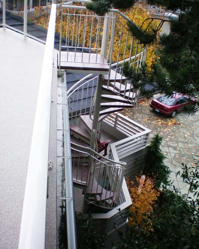 Stairs and Railing Projects  Ventana Construction Seattle Washington