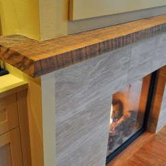 Pictures Of Kitchen Remodels Butcher Block Fireplace - Ventana Construction Seattle, Washington