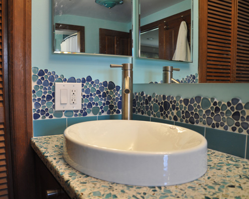 Custom Tile Bath Remodel  Ventana Construction Seattle Washington