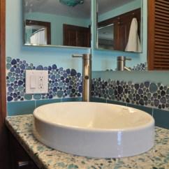 Kitchen Sink And Faucet Backsplash Gallery Tile Projects - Ventana Construction Seattle, Washington