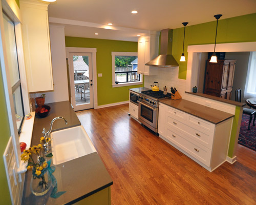 Seattle Kitchen and Mudroom Remodel  Ventana Construction