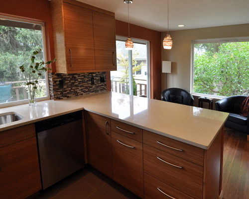 wood flooring for kitchen best rta cabinets seattle remodel - ventana construction ...