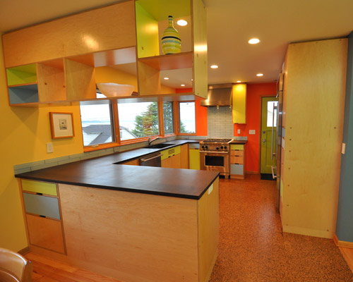 used kitchen cabinets for free corian sinks modern remodel - ventana construction seattle ...