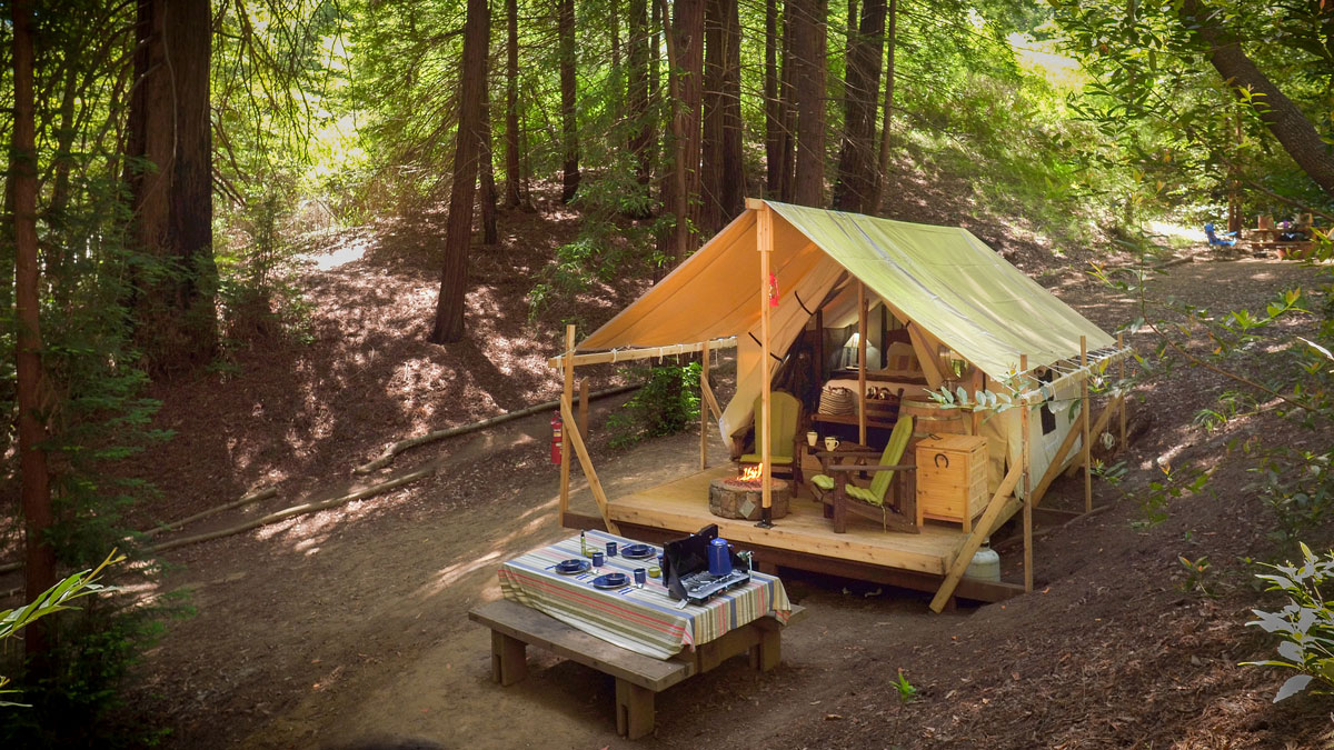 Ventana Campground  Camping In The Big Sur Redwoods