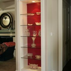 Living Room Glass Shelves Aqua Cabinet Residential Gallery Anchor Ventana In Products