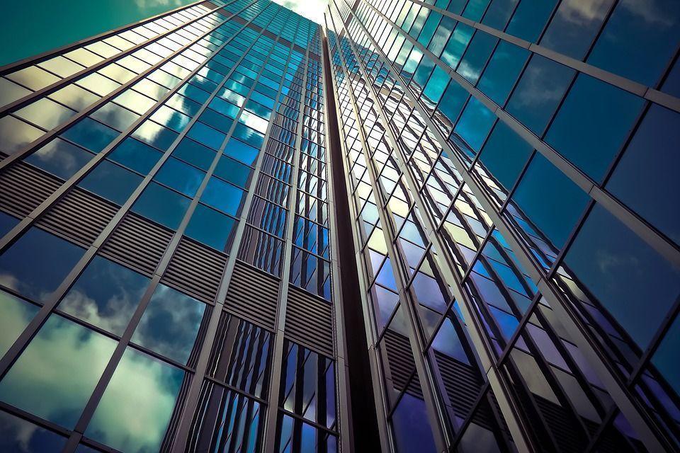 Arquitectura, Rascacielos, Fachadas De Cristal, Moderno