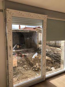 Instalación puerta osciloparalela 2