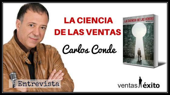 SalesBook 015: LA CIENCIA DE LAS VENTAS CON CARLOS CONDE