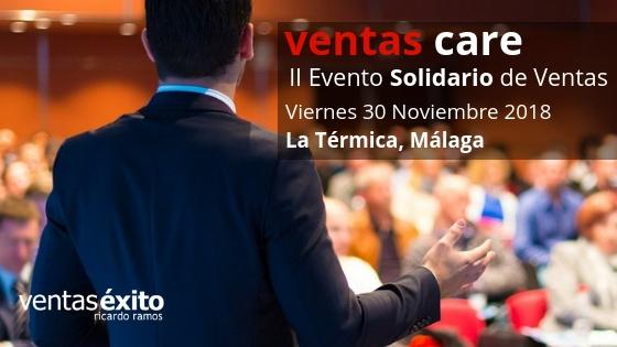 2ª EDICIÓN DEL EVENTO SOLIDARIO #VENTASCARE: 30 DE NOVIEMBRE EN MÁLAGA