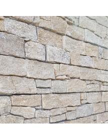 parement panel sur filet granit jaune