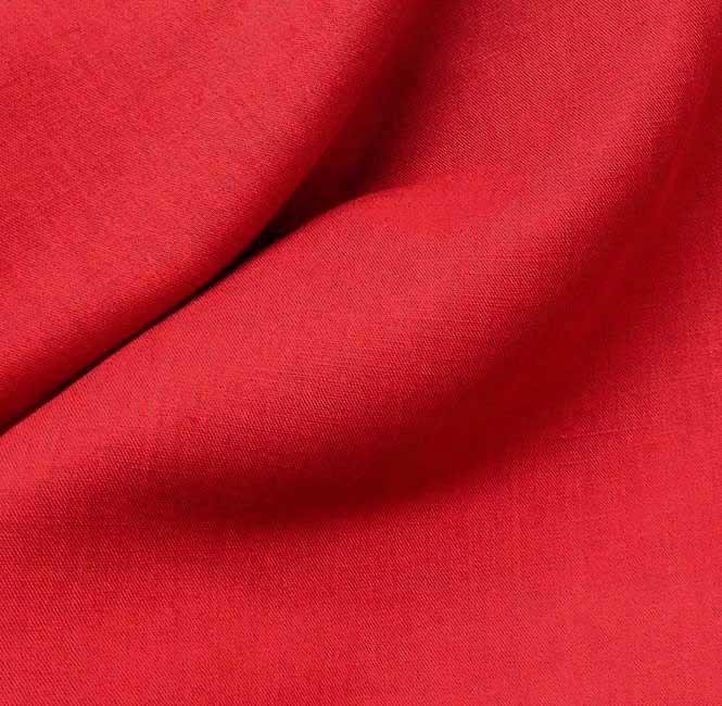 tissu lin tissu rouge tissu ameublement