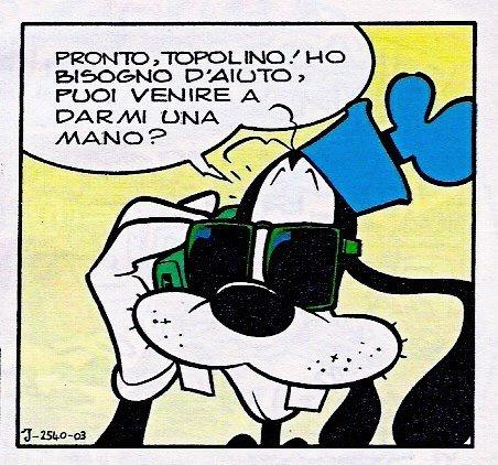 Auguri a Giorgio Salati per la sua centesima storia con il Topo