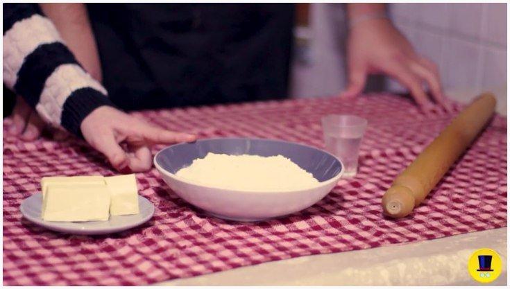 torta di mele pasta brisé