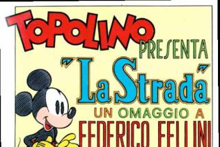 La strada, Cavazzano omaggia Fellini