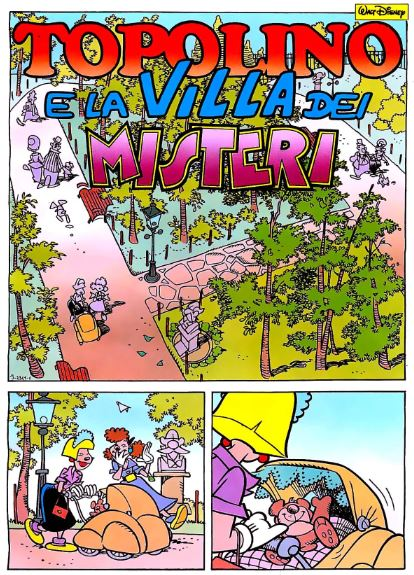 Topolino e la villa dei misteri