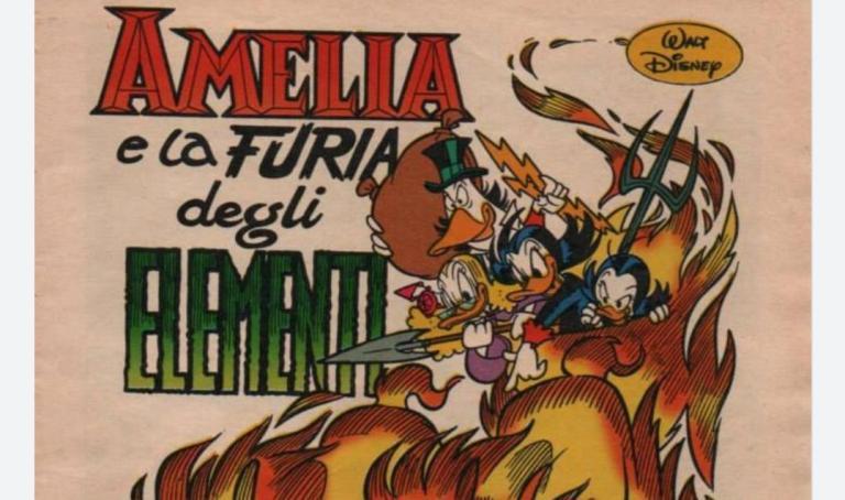 Amelia e la furia degli elementi