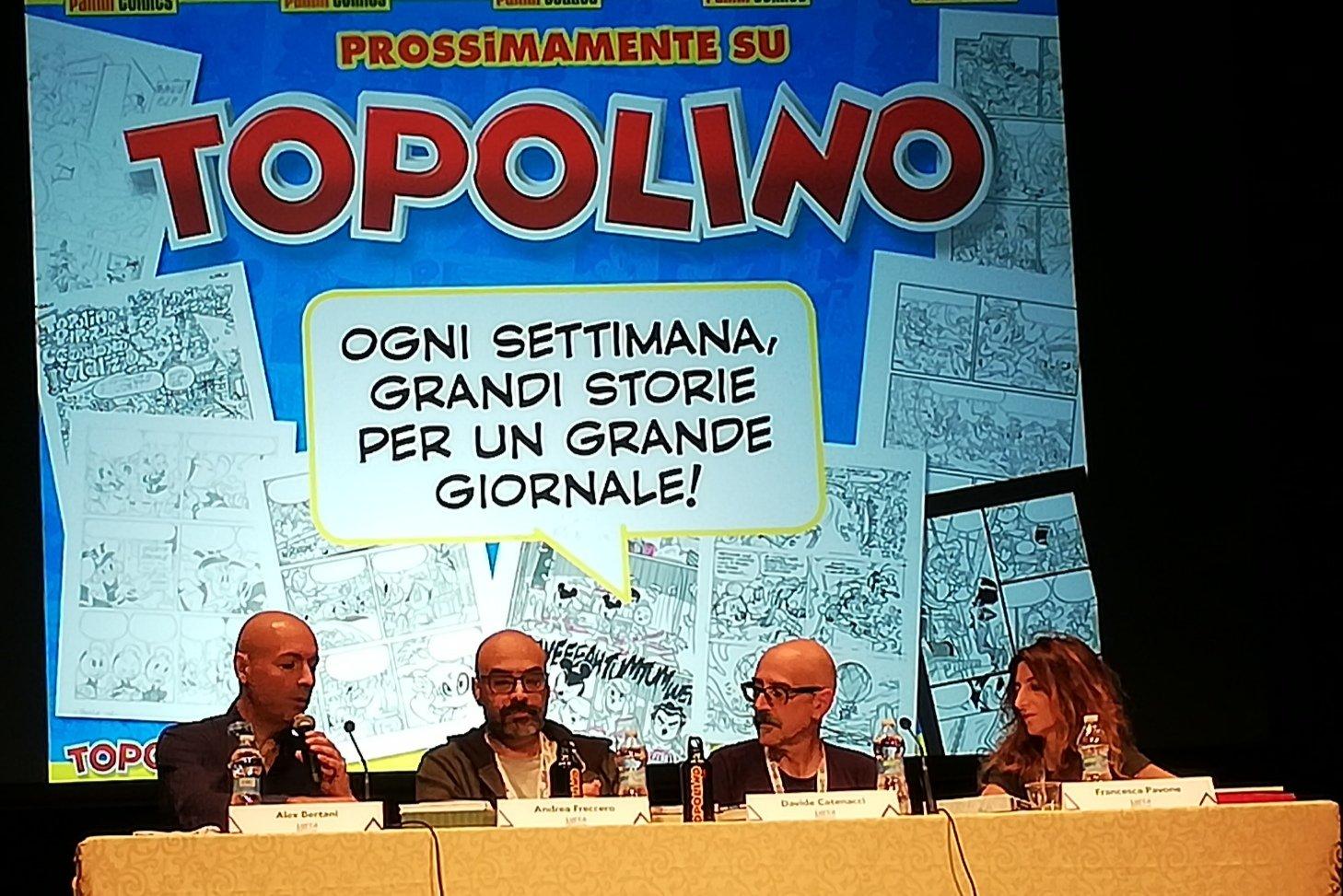 Lucca 2019 – Prossimamente su Topolino