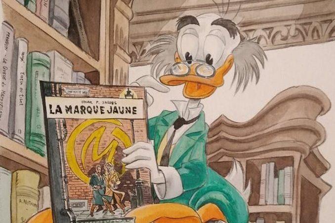In filigrana: tracce di Topolino per 5 fumettisti non-disneyani