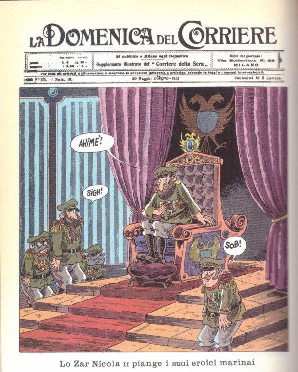 Lo zar Nicola II Bonvi