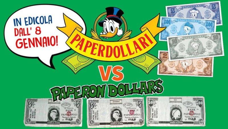 Paperdollari VS Paperon Dollars