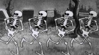 skeleton-dance silly symphonies