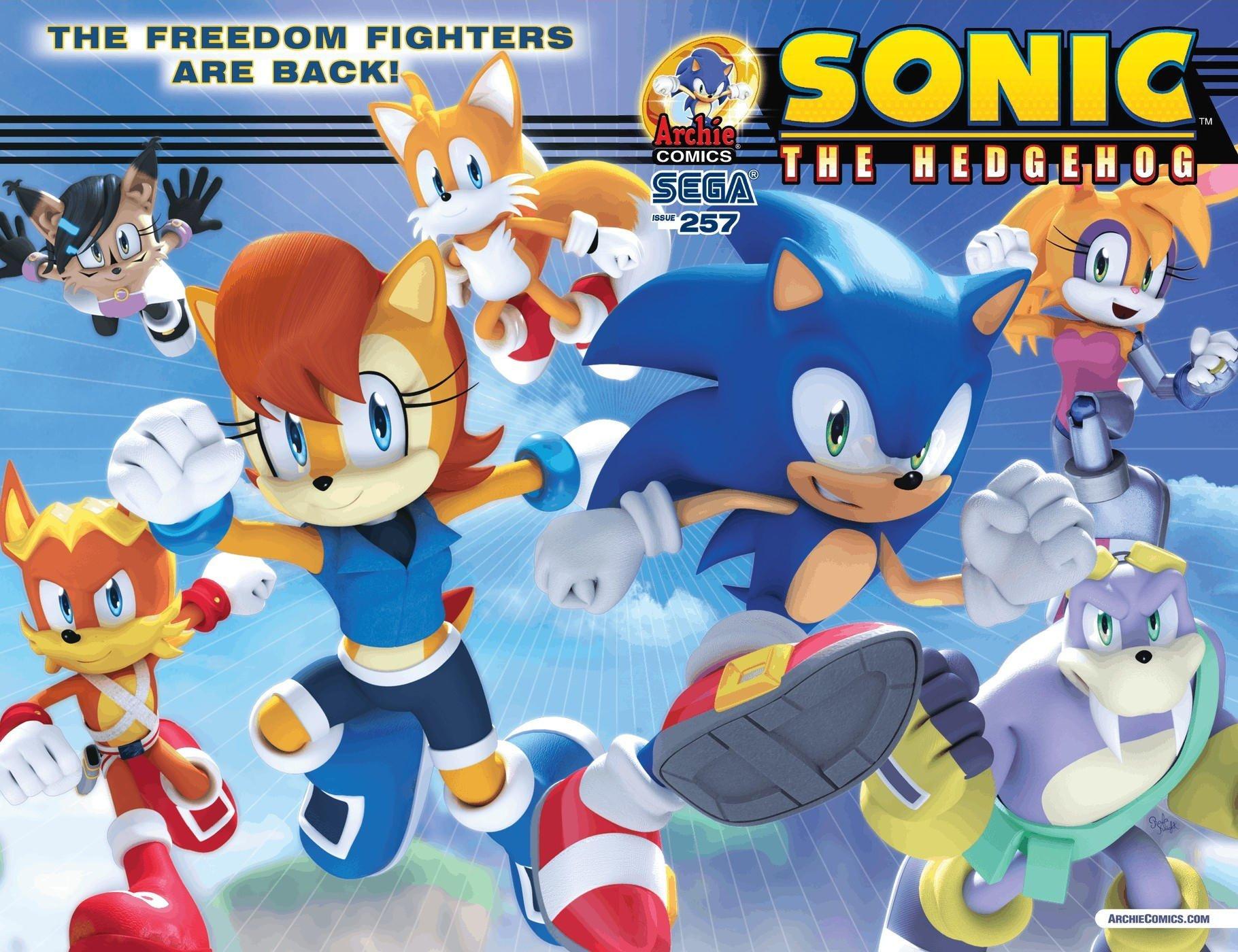 Il (mi)sconosciuto fumetto di Sonic The Hedgehog