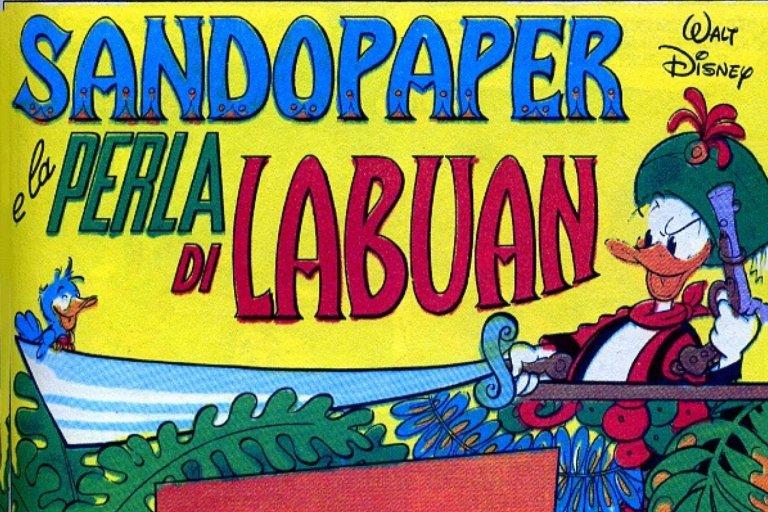 Sandopaper e la perla di Labuan