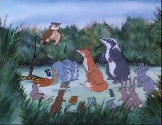 avventure del bosco piccolo averla topi
