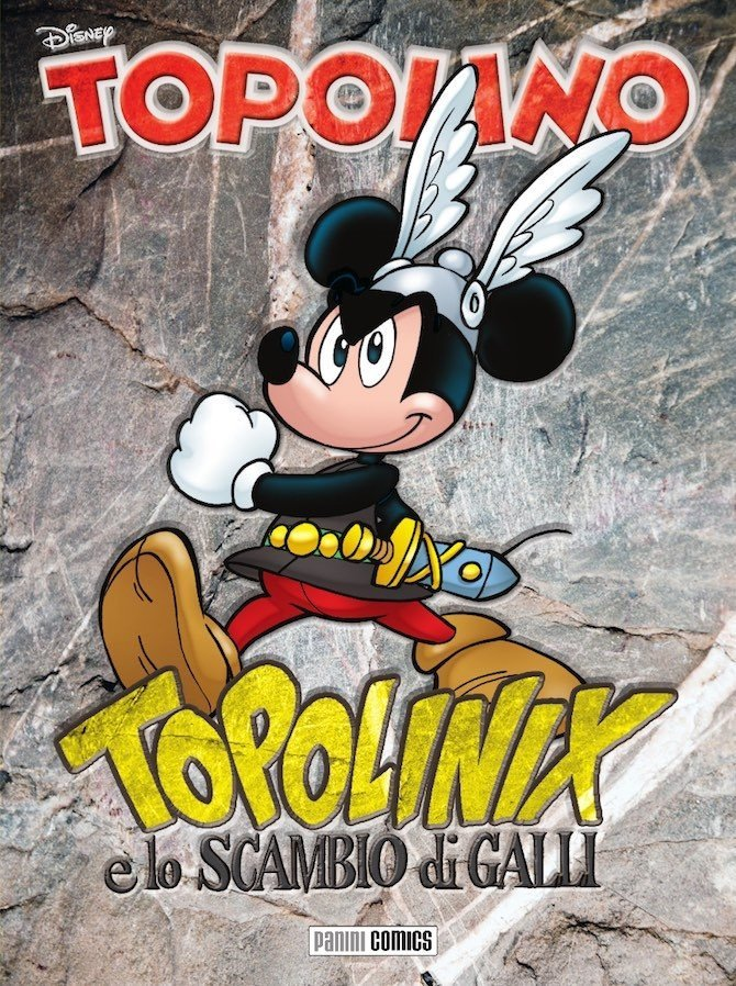 Topolinix e lo scambio di galli Uderzo