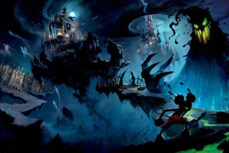 Illustrazione Epic Mickey