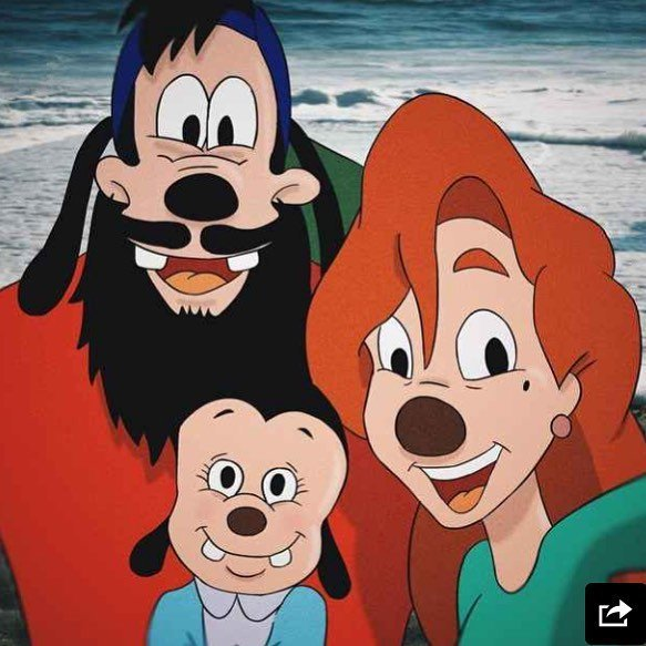 max e roxanne con la loro figlia