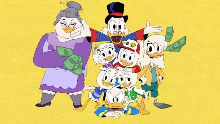 terza stagione di Ducktales: Quack pack