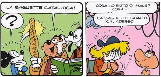 Baguette catalitica